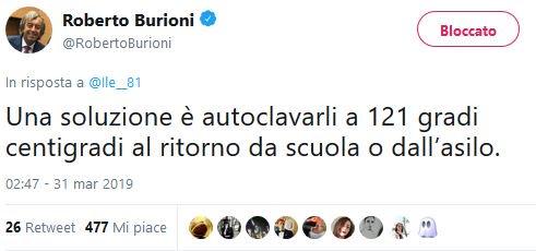 #Burioni