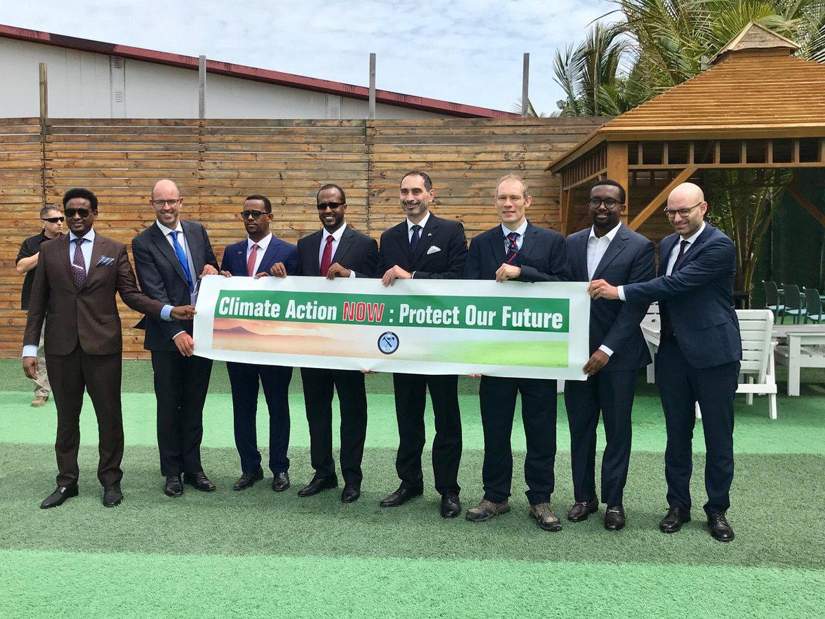 In 100 days world leaders will come #TogetherForOurPlanet to tackle this urgent challenge @COP26.  🇬🇧 was pleased to attend the 'Climate Change & Its Impact' conference with co-hosts @ItalyinSomalia & FGS Minister @AmbGamal.   Thank you @festusomalia 💚#ClimateAction cannot wait. https://t.co/4VfdI68nLe