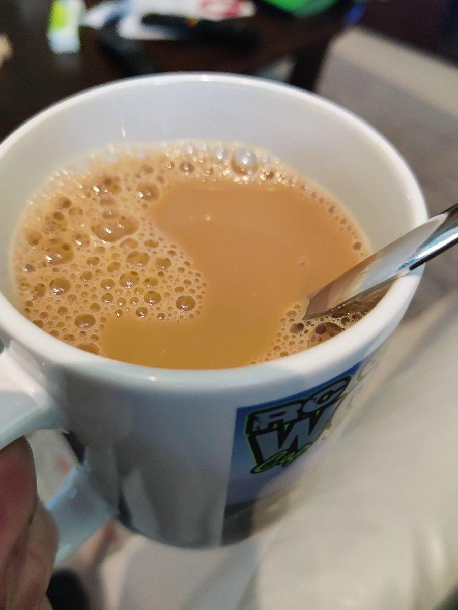 Kundi keitti kahvit joten nautitaan kahvia https://t.co/IeAeIoCZMZ
