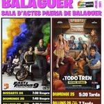 Image for the Tweet beginning: Arriba al Cinema #Balaguer aquest