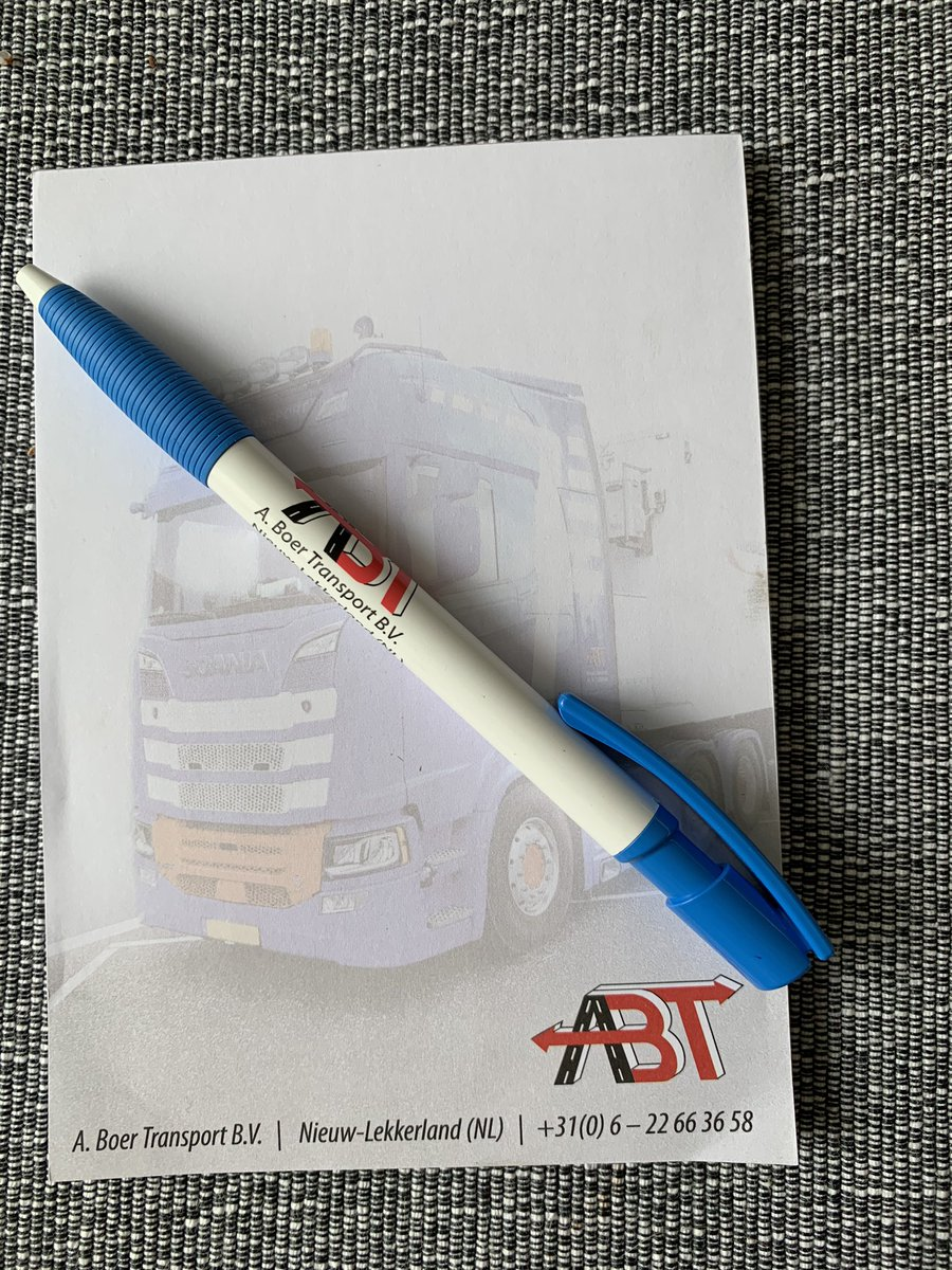 test Twitter Media - Weer een lading pennen gehad van transportbedrijf A Boer transport bv 🖊🖊👍🏼👍🏼😊😊 https://t.co/hyE0kahkNR