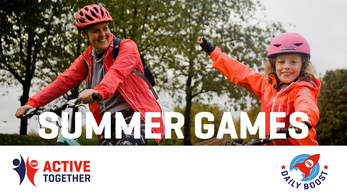 Tokyo 2020 is underway! Are you feeling inspired? Why not get involved in our #ActiveTogetherSummerGames. Simply join a team, log your activity (any activity counts!) and score points in a bid to win some fantastic prizes! ⚽😀🏅   Find out more here 👉https://t.co/f4UWlm2Iub