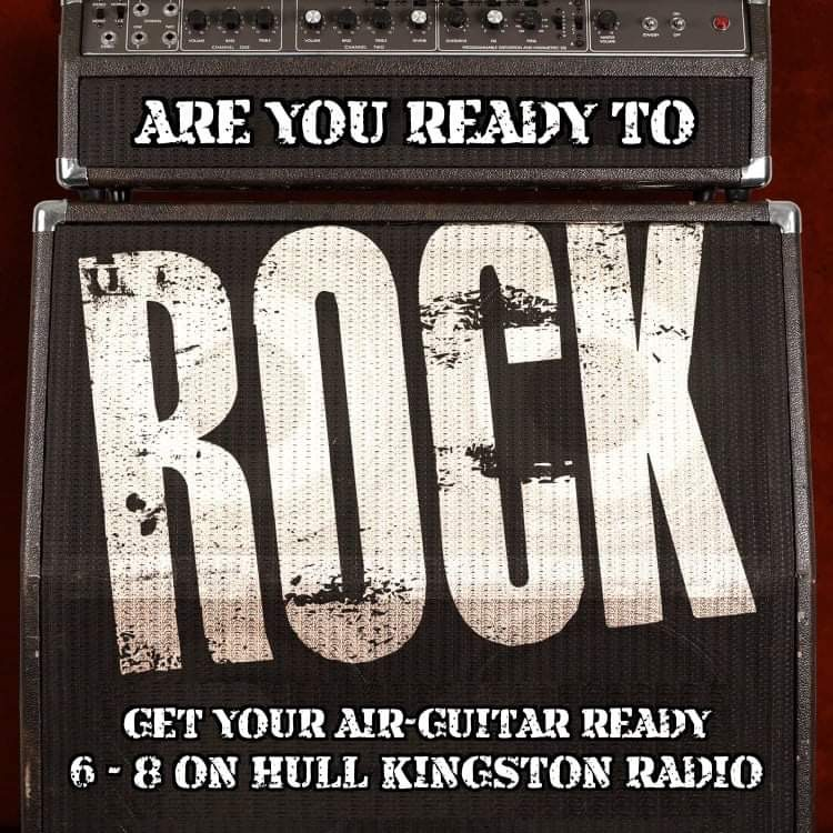 We're getting ready to do some rocking, so go and get that air guitar, or failing that, those rock trousers you had back in the 80's, and #GetReadyToRock 🤘
