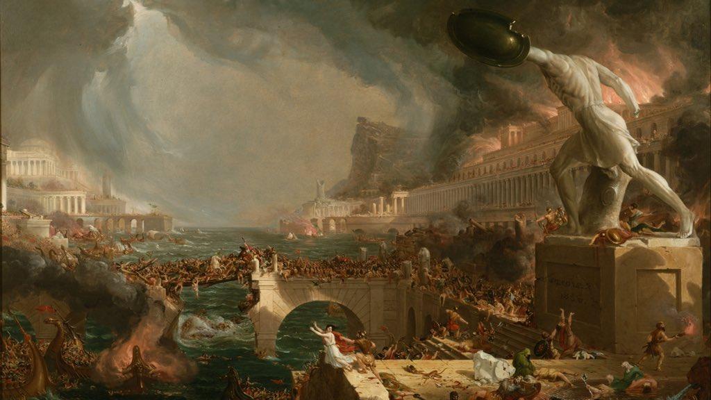 روم در آستانه سقوط