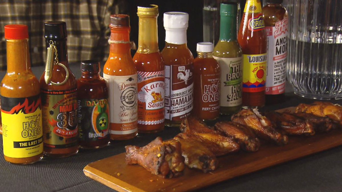 On Saturday, 7/24 @ 7pm ET/4pm PT, Ryan and Brian bring the Hot Ones challenge to #cryptic #crosswords. 10 sauces, and as many puzzles as we can tolerate. We'll be joined by special guests @katjabrinck and @faBioethics! https://t.co/483lH8u0bG #hotwings #hotones @firstwefeast https://t.co/zccETV309Z