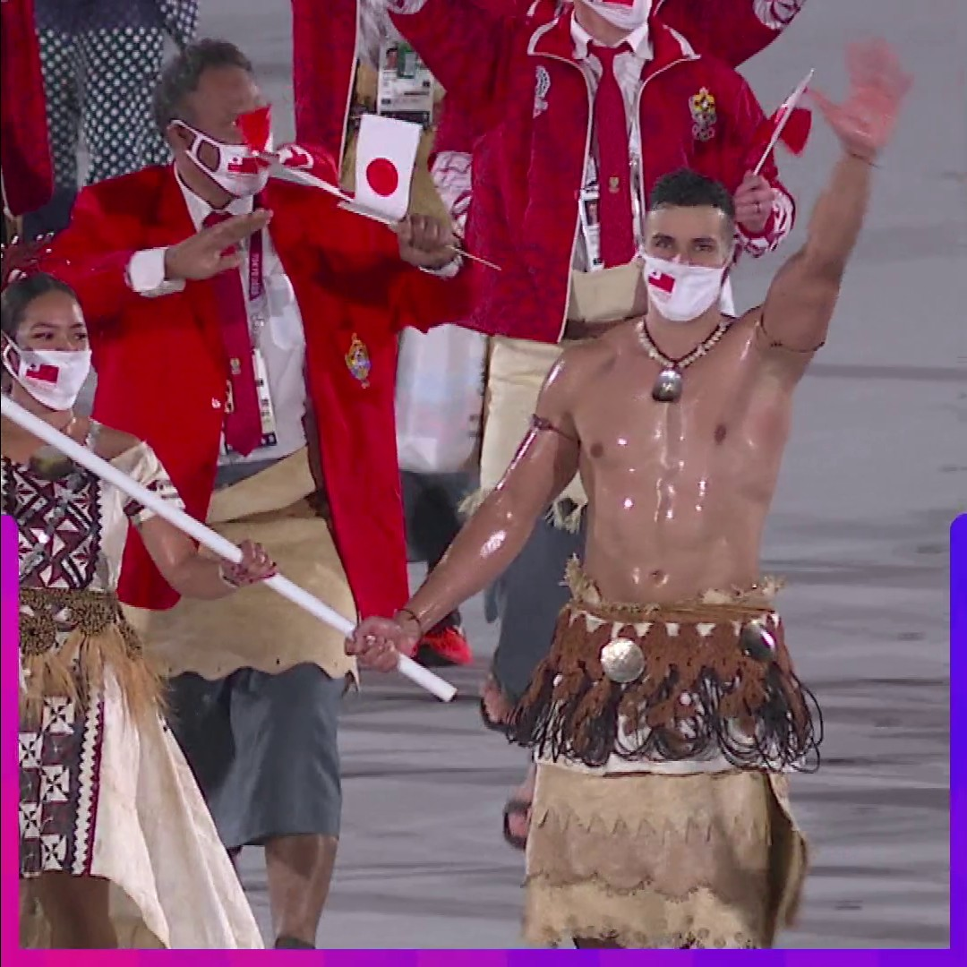 For the next 60 seconds, please enjoy this #OpeningCeremony highlight reel. #TokyoOlympics https://t.co/lvxfueZM6s