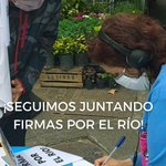 Image for the Tweet beginning: 👉Estamos en #Palermo juntando firmas