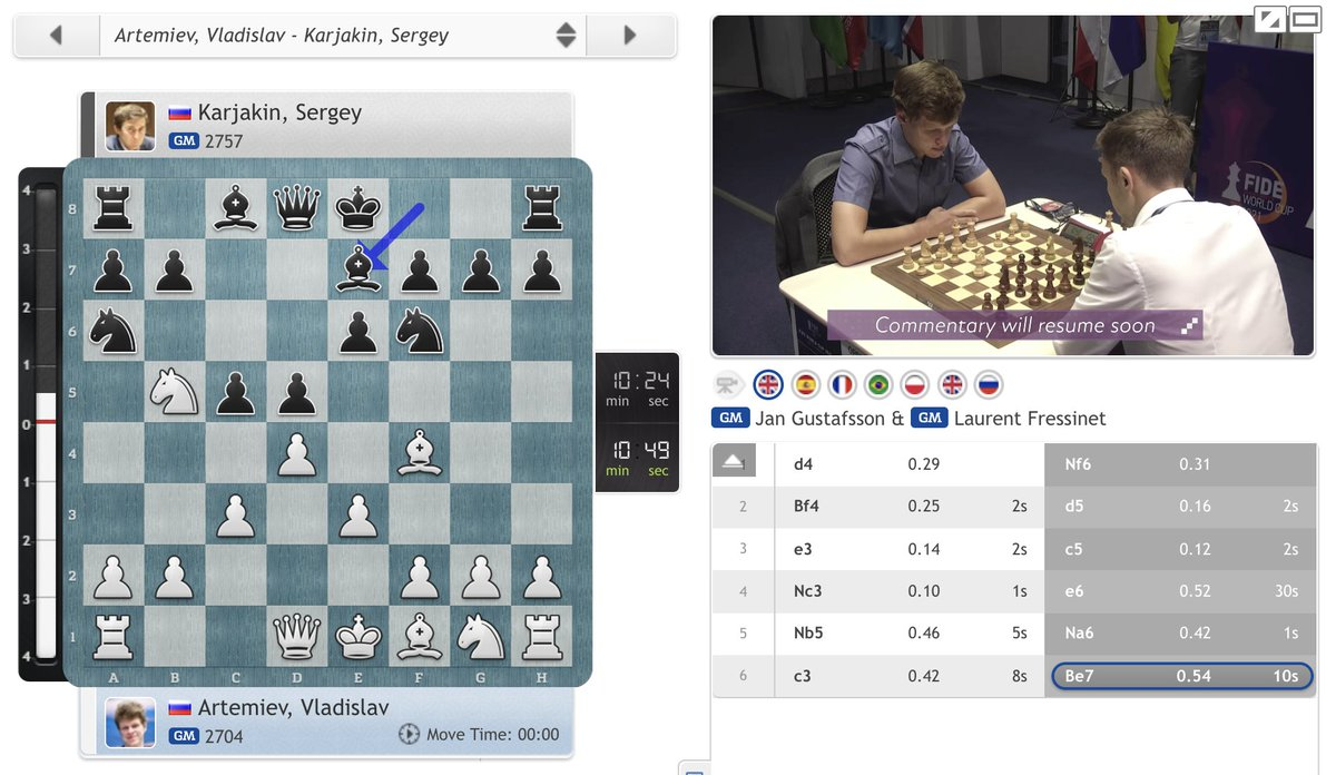 test Twitter Media - The 10-minute games have started, with just 3 tiebreaks continuing in the Open and 2 in the women's #FIDEWorldCup! https://t.co/46r21Gu7ch  #c24live https://t.co/x0yMxkBShi