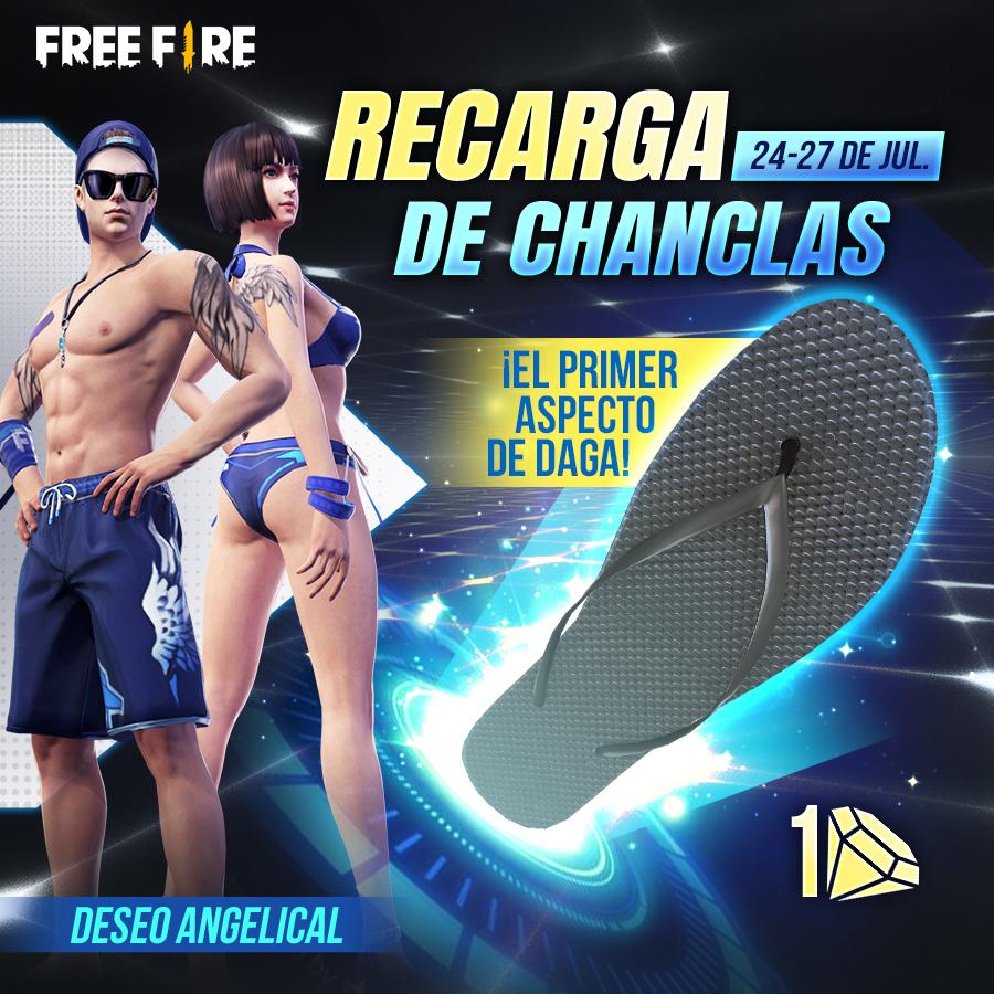 free fire chancla latinoamerica