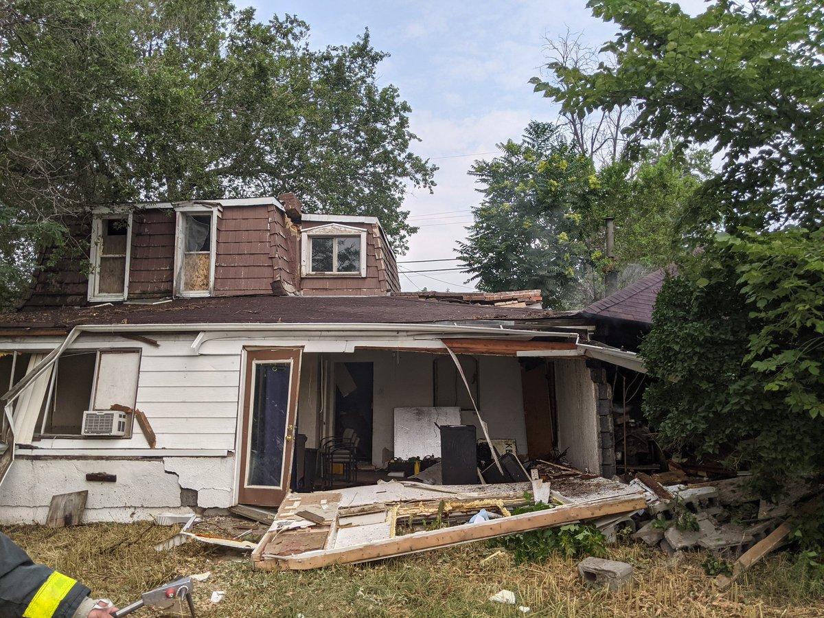 PHOTOS: Home Randomly Explodes In Denver Neighborhood | iHeartRadio