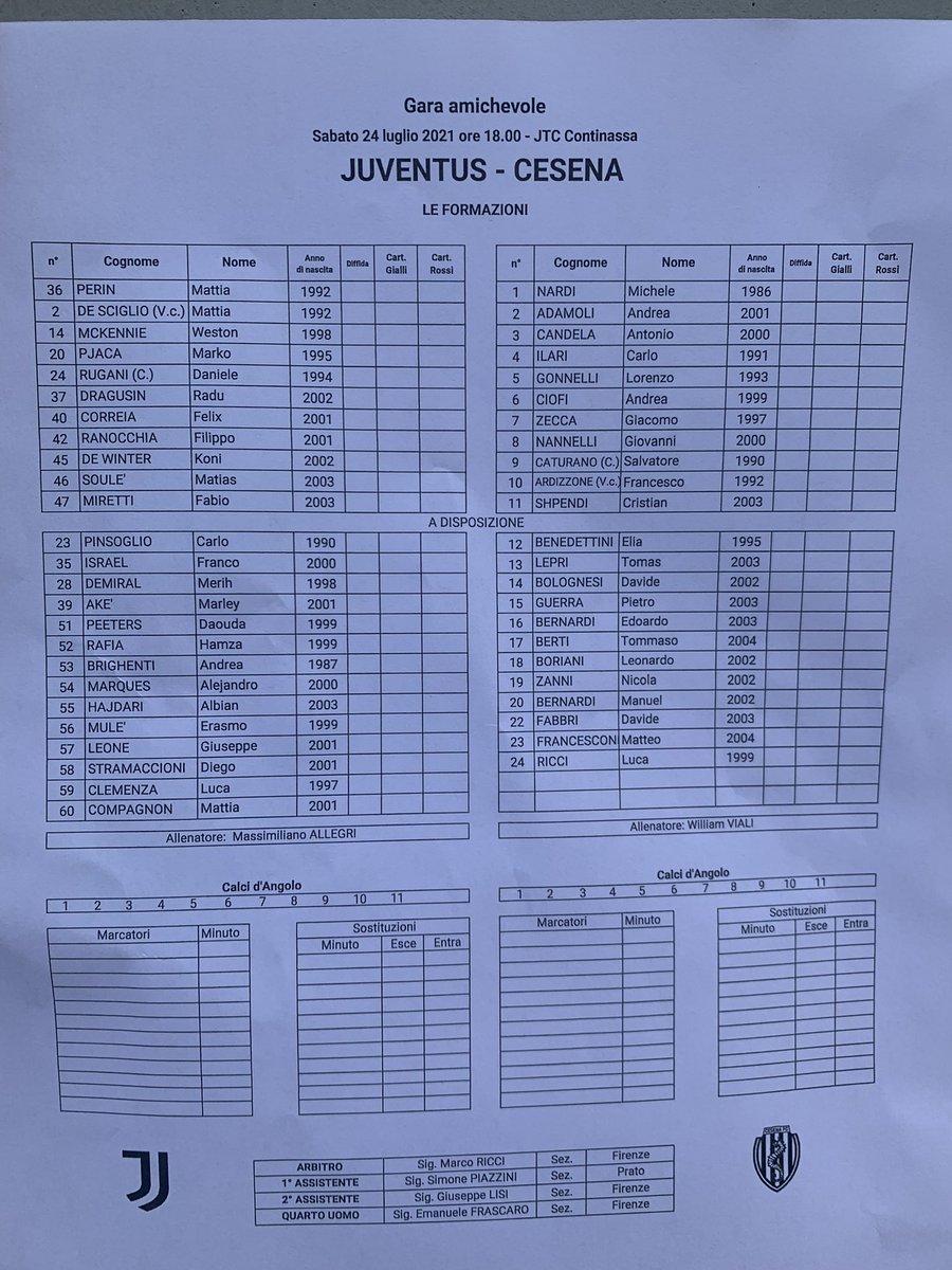 #JuveCesena