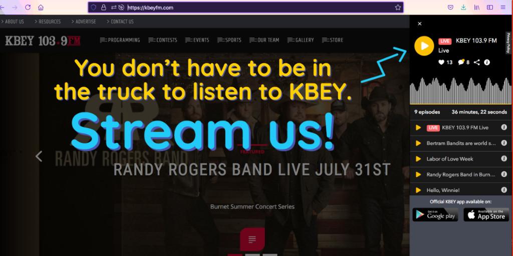 KBEYFM photo