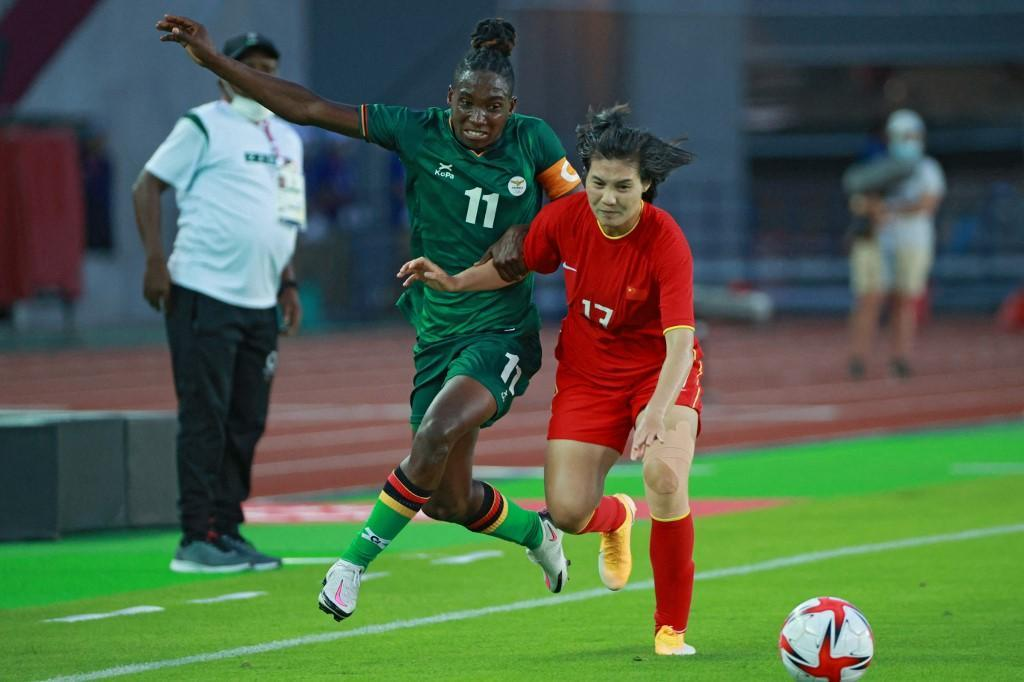 Tokyo 2020: Banda scores hat-trick again as Zambia draw 4-4 with China