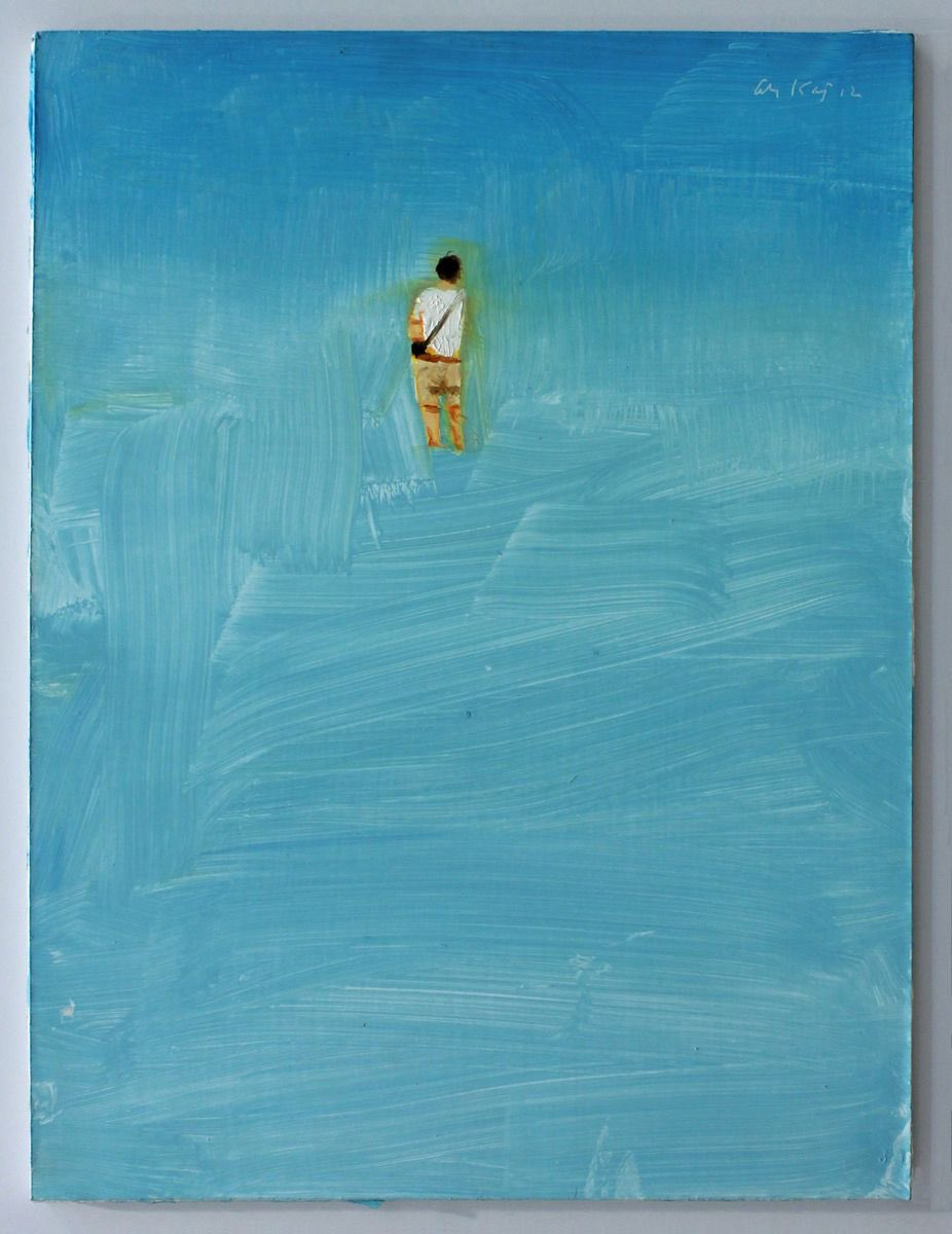 'I'm longing to be with you, and by the sea, where we can talk together freely and build our castles in the air…' -   Bram Stroker, Dracula, Ch. 5, 1897 | Alex Katz  © https://t.co/f6xXHMSTGM