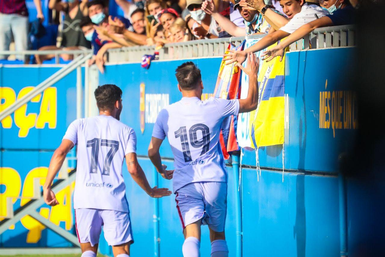 Barcelona vs Girona 3-1 Amistoso Pretemporada 2021