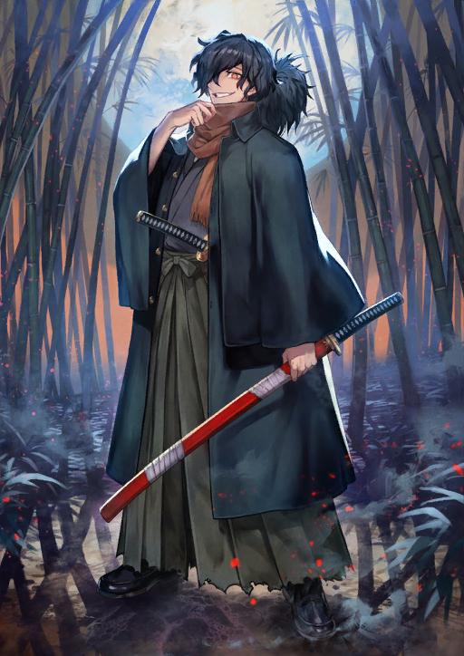 test ツイッターメディア - Daily Samurai Characters: Okada Izou from Fate/Grand Order https://t.co/crK2MUF1Qw