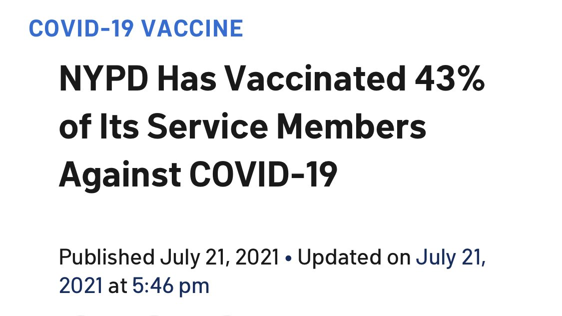 The off duty cops are in the anti-vax protest https://t.co/LzdBO2eIZa https://t.co/gIep1w4ZpT