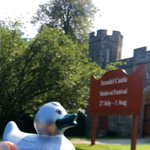 Can anyone spot where our @SHSGreenSilver duck is visiting this summer? He drove past an important landmark for @SHSGirlsPrep and @SHSBoysPrep pupils yesterday! ❤️💙💚