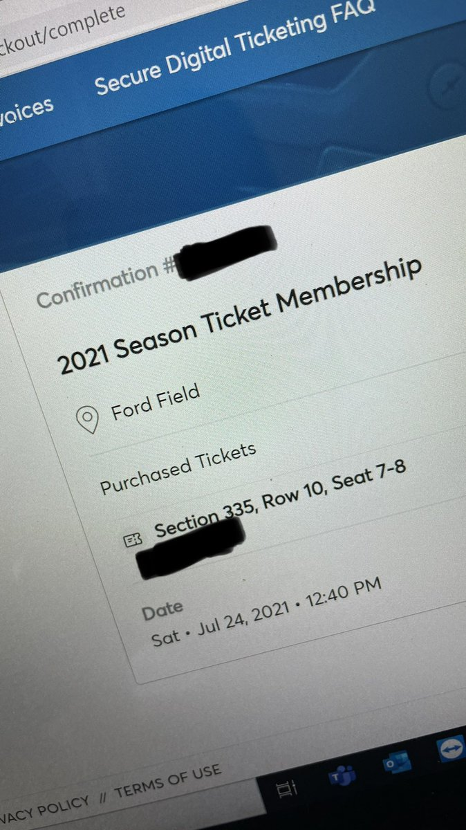 Hey @Lions. I did a thing today. I never thought I would be able to do this! See you this fall! #OnePride #golions #seasontickets #LETSGO https://t.co/C5g7c32dlX