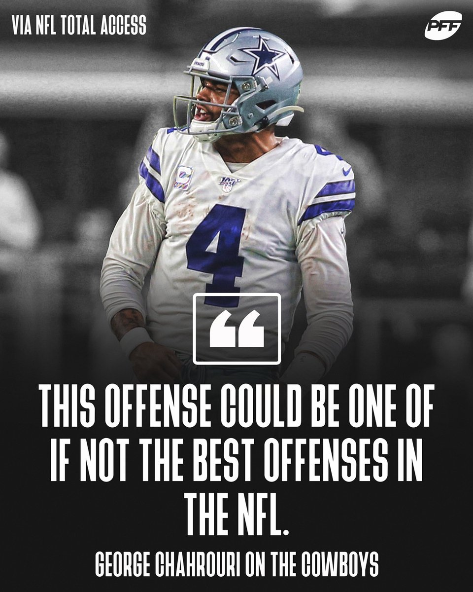 Who is stopping the Cowboys offense next season? https://t.co/oF4u7ta6Iw