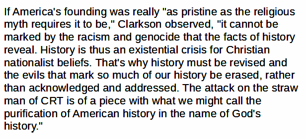 """Finally, @FredClarkson noted, """"the purification of American history in the name of God's history"""" was common motivation in the two rightwing campaigns: 8/9 https://t.co/TIKn9x5EI8"""