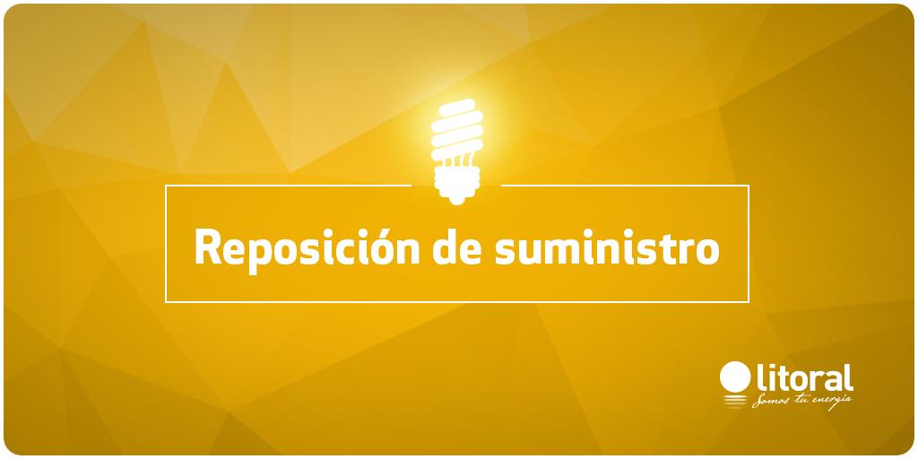 RT @Empresa_Litoral #LitoralInforma: A las 14:50 horas fue normalizado el suministro en el sector de #StellaMaris de la comuna de #Algarrobo