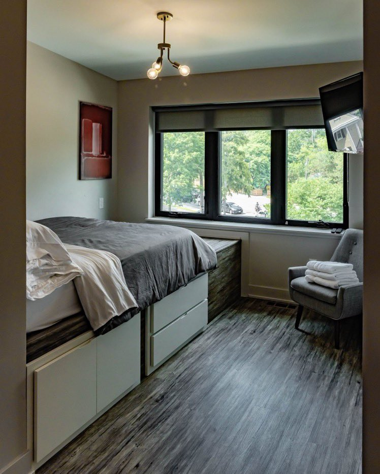 Do business travel better. All of our apartments are fully furnished and move-in ready from day one. #thrive #flexibleliving #michigan #annarbor https://t.co/UX0PdIfK2C