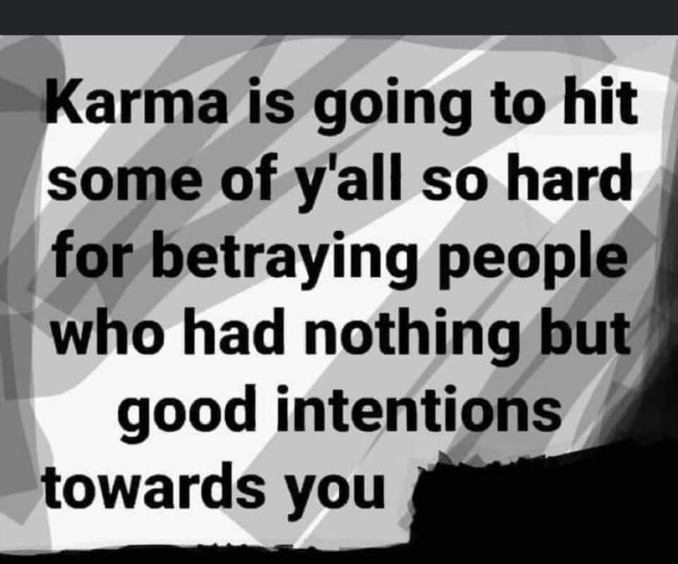 👉🏾 #Word! #Wisdom #Truth #DoTheRightThing and you'll never have to #worry!  #Good #People #NEVER have to seek #Revenge #Karma keeps #score!   #WordsOfWisdom If you don't want it done to YOU,  Don't Do #anything #negative to someone else! #WordsToLiveBy #Honor #integrity #Respect! https://t.co/5G0DQvZuMZ