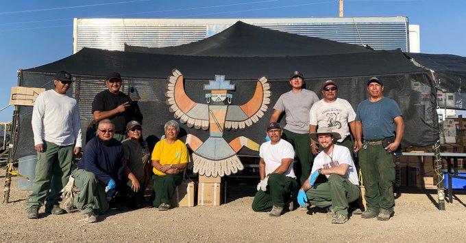 Zuni Pueblo Camp Crew- Bootleg Fire