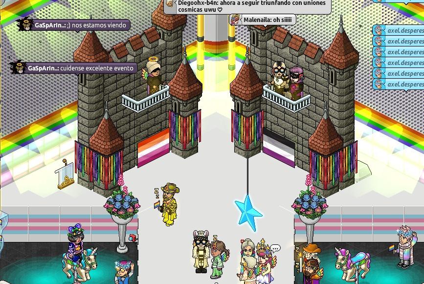 @lgtbhabbo #Pride2021 #TeamMalenaila Divinos todes ❤ @BizarrosHb @app_habbo @MalenailaHills @AxelDesperes https://t.co/hK0kbpviM5