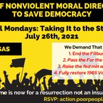 Image for the Tweet beginning: Be the movement.   arkansas@poorpeoplescampaign.org  #LittleRock  #arpx