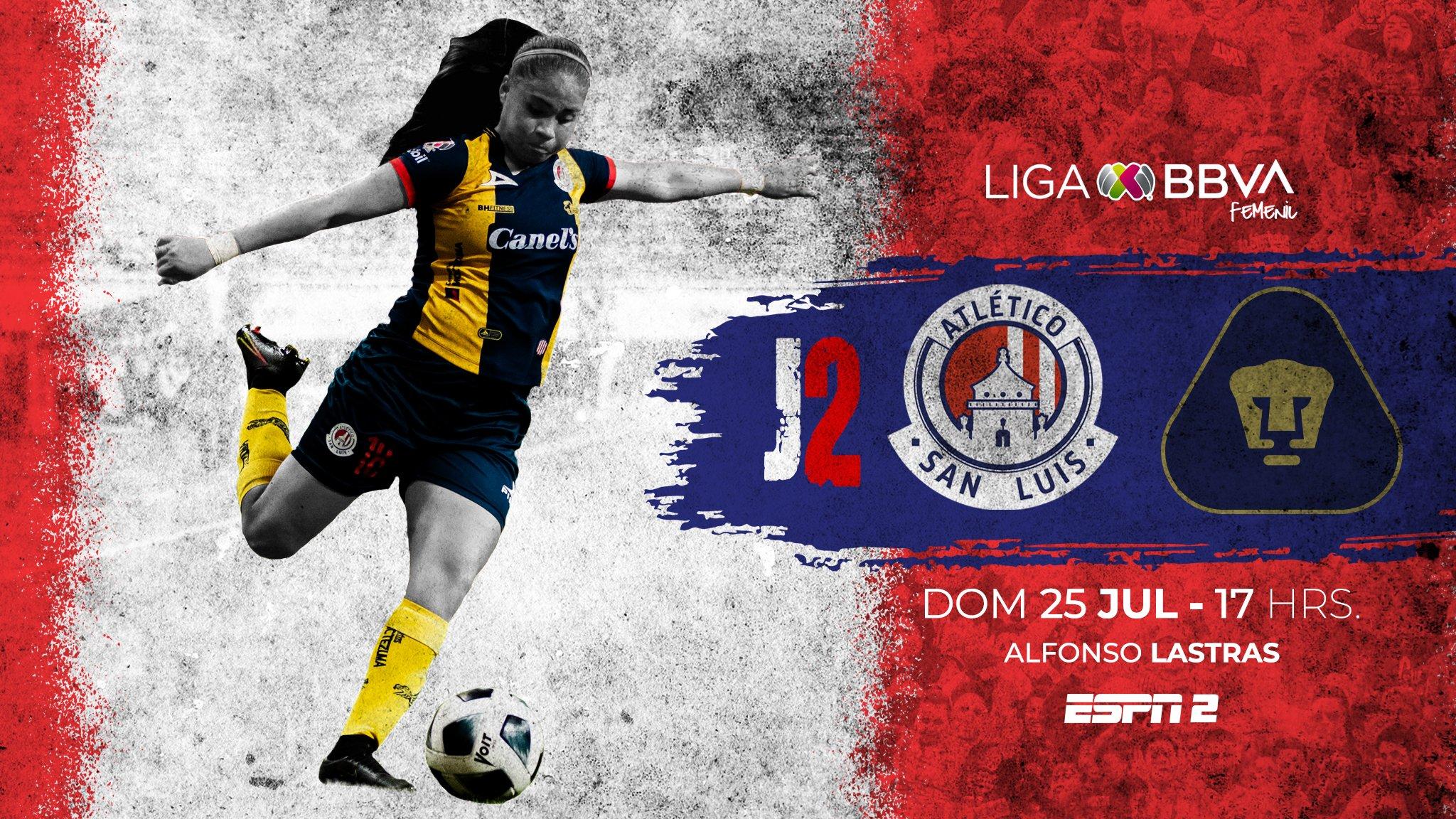 Atlético San Luis vs Pumas