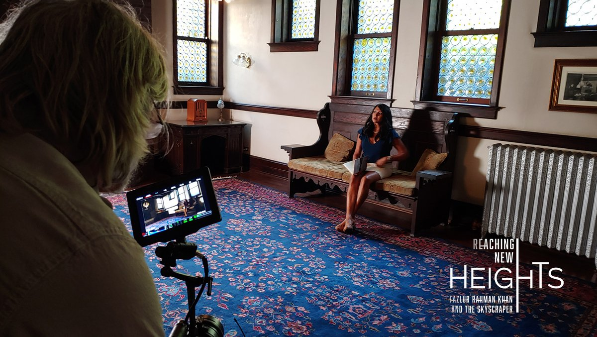 Story of Dr. Fazlur Khan is an untold #AsianAmerican immigrant story—of perseverance, resilience, and genius. Pleasure to speak with historian Dr. Amy Bhatt about #SouthAsian American #history. #FRKDocumentary Filmed at the beautiful #StimsonGreenMansion @PreserveWA. https://t.co/GakgpLBEyP