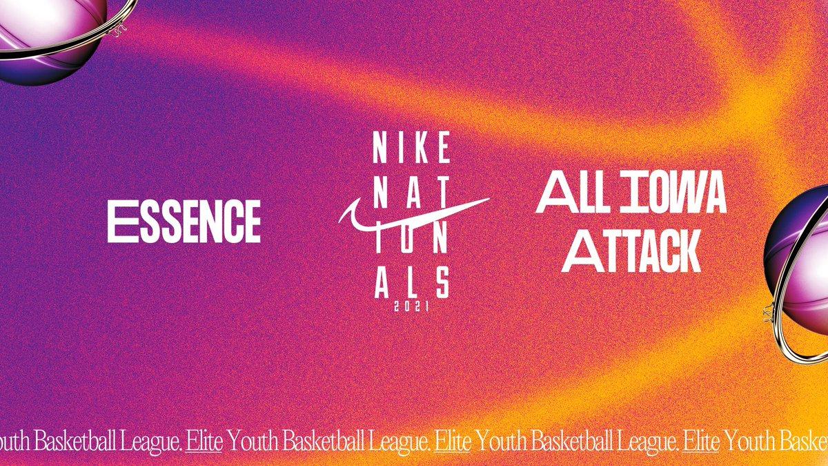 Nike Nationals 16U Championship. #NikeNationals   🏀 @EssenceGirlsBB vs @AllIowaAttack  ⏰ 12:00 PM EST 📺 ESPNU https://t.co/pZ2EzBHoqA