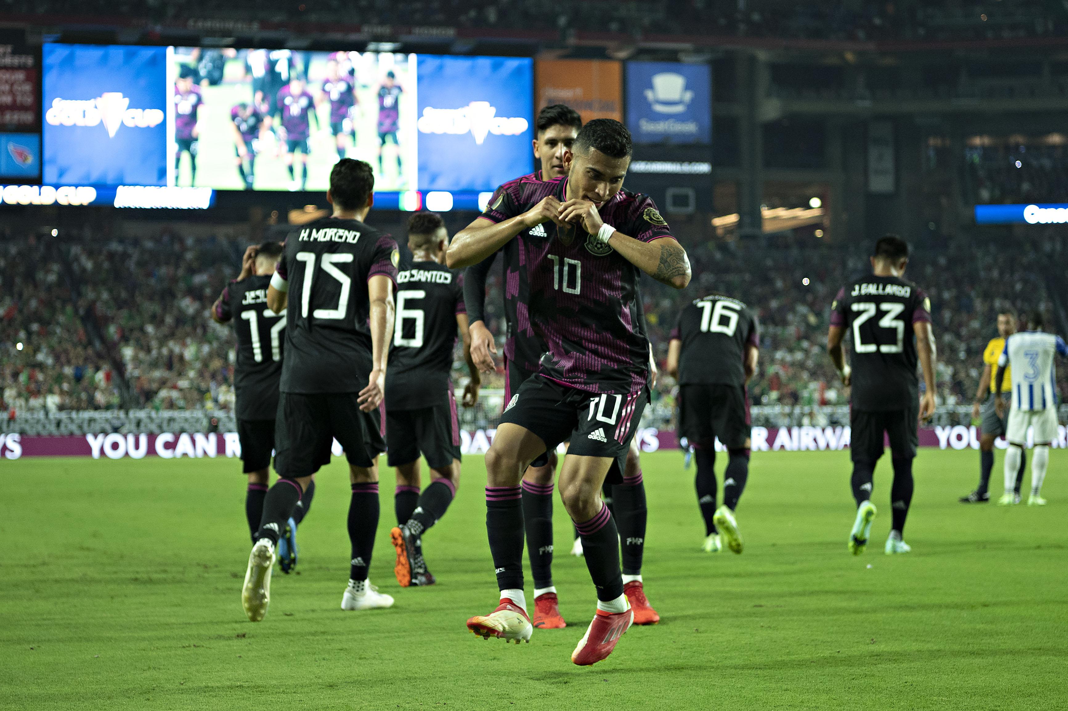 México vs Honduras 3-0 Cuartos de Final Copa Oro 2021