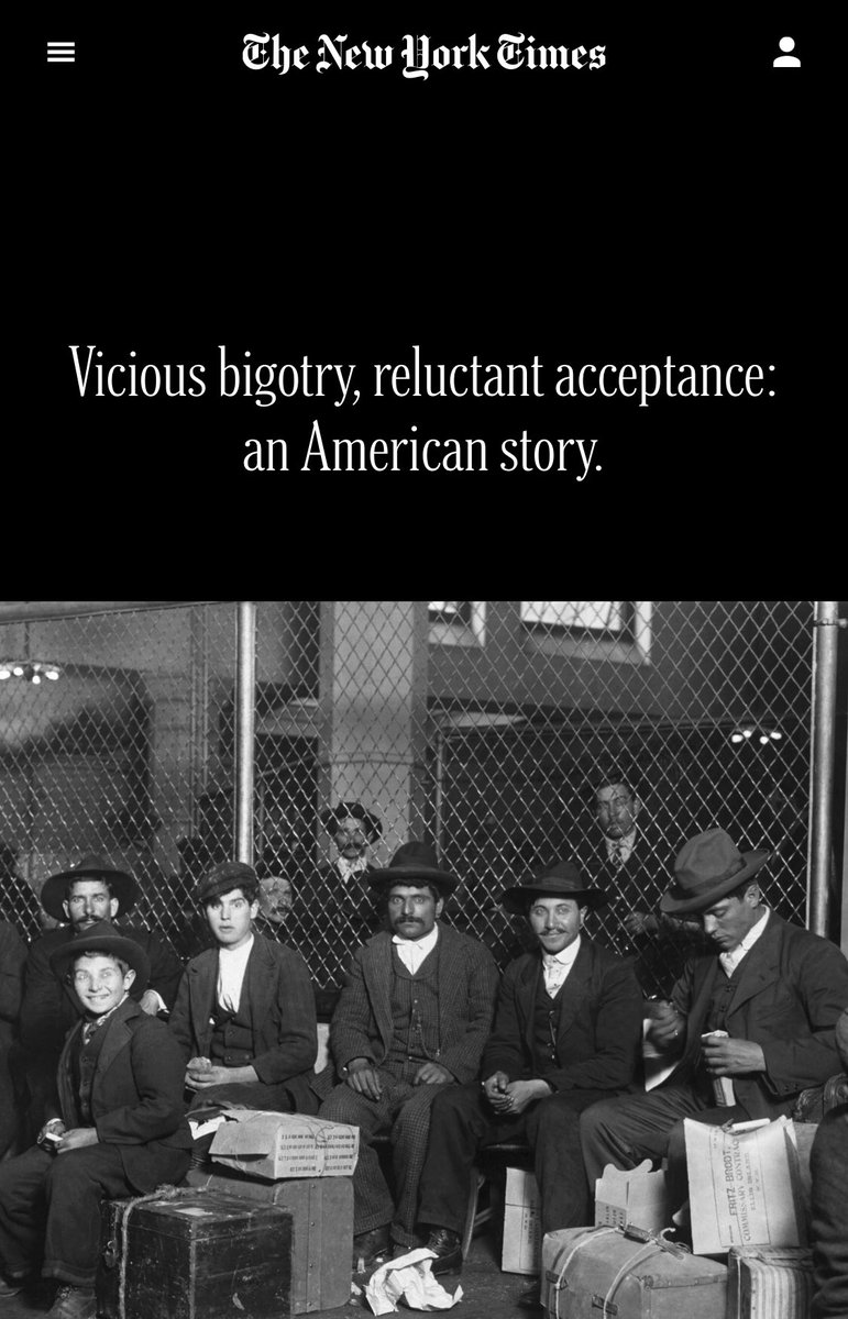 """@spainavila1492 @JThomp1881 Identifying with the oppressive folks in power is a long standing strategy of assimilation for folks who come to this country as """"others"""" — it happened with Italians who were at one point discriminated against in the U.S. and now they are some of the  biggest Trump supporters https://t.co/mXojV5GP1h"""