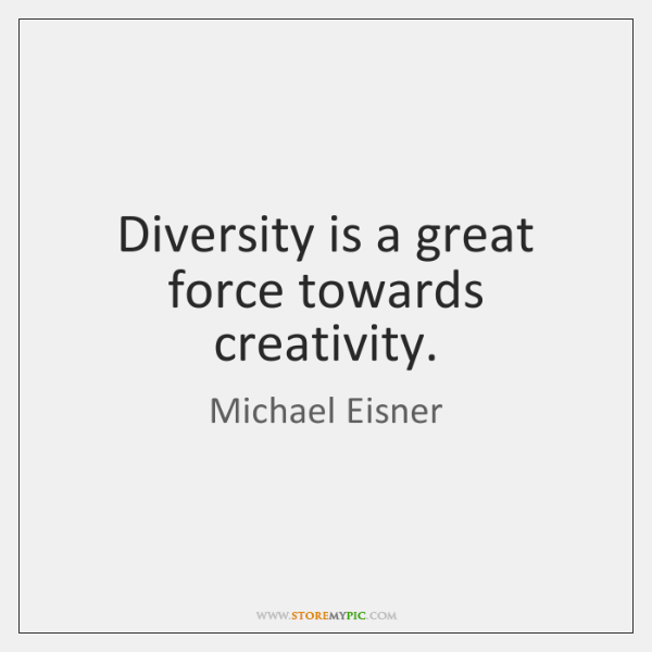 Diversity -> Creativity  #diversity #creativity https://t.co/mU2pm4Isxm