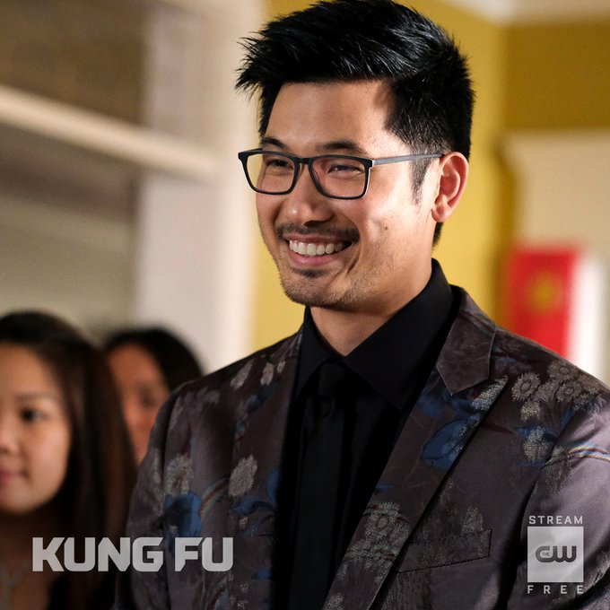 The #best #man of #honor, #thanks to #Nicky's #playbook.   Binge all of #Season1 free only on The CW: https://t.co/Rr5rZ1Zm8u   #CWKungFu   #KungFu https://t.co/MR99JNlYOs