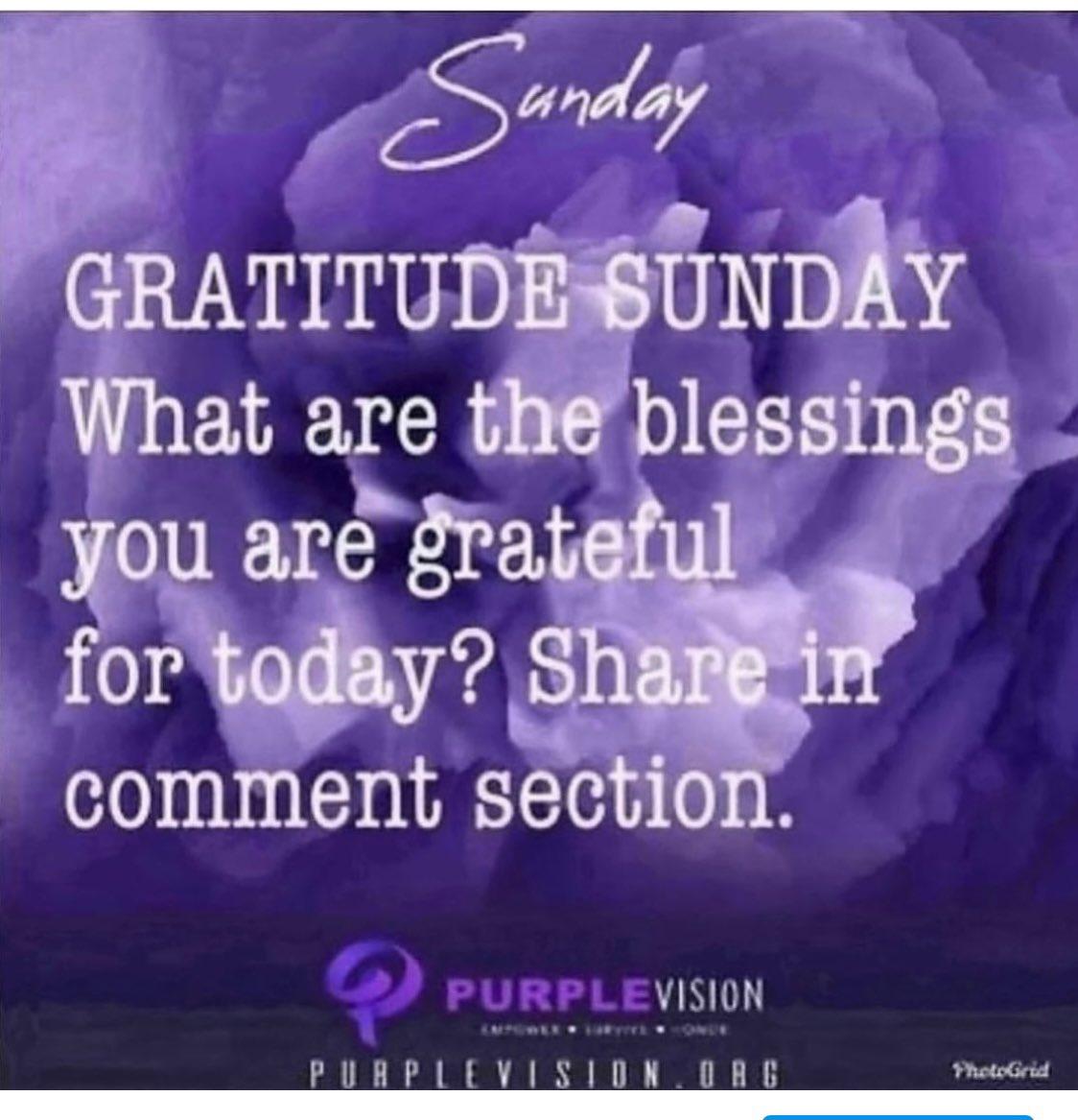 #GratitudeSunday #purplevisionorg #empower #survive #honor #stopdomesticviolence💜 https://t.co/VBZjGRb8jv