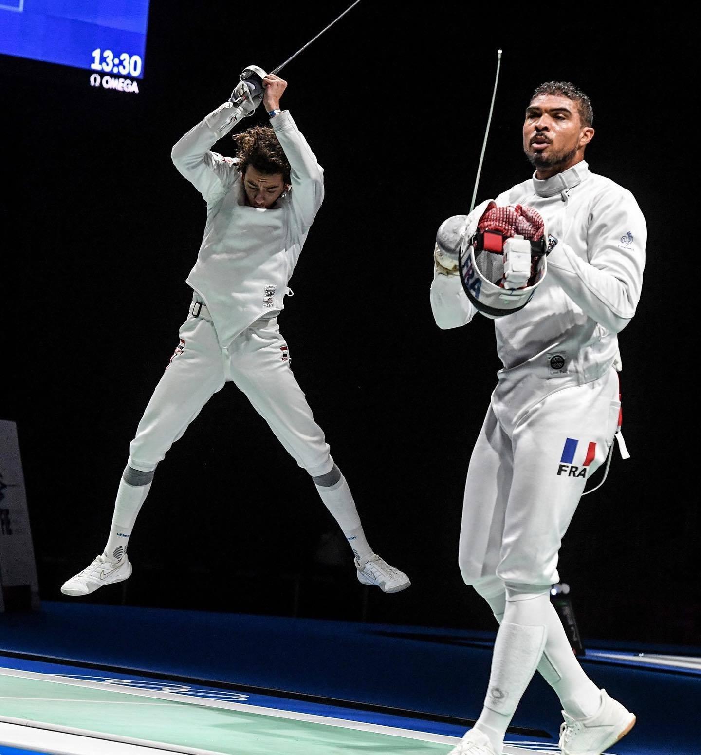 أولمبياد طوكيو - محمد السيد يحتفل على طريقة كرستيانو رونالدو