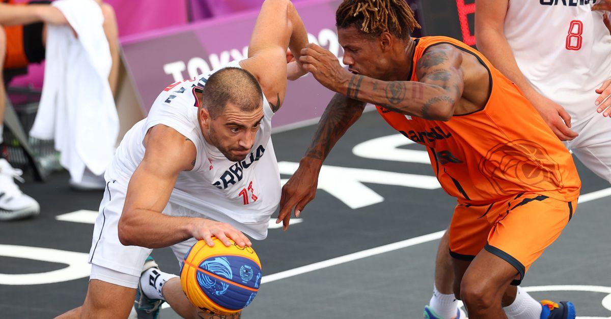 Basketball 3x3-Serbia top Poland, Belgium to stay perfect https://t.co/ZSUwIukPCz https://t.co/FzY6cBwdxx