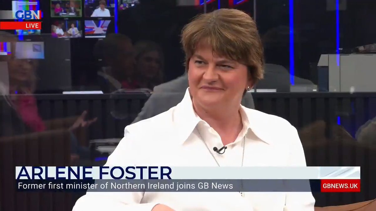 'I see this as an opportunity to have space for a civilised discussion and to bring Northern Ireland very much into the mainstream of UK politics'  Arlene Foster explains why she's joining GB News. https://t.co/UW3WJ9lEE2