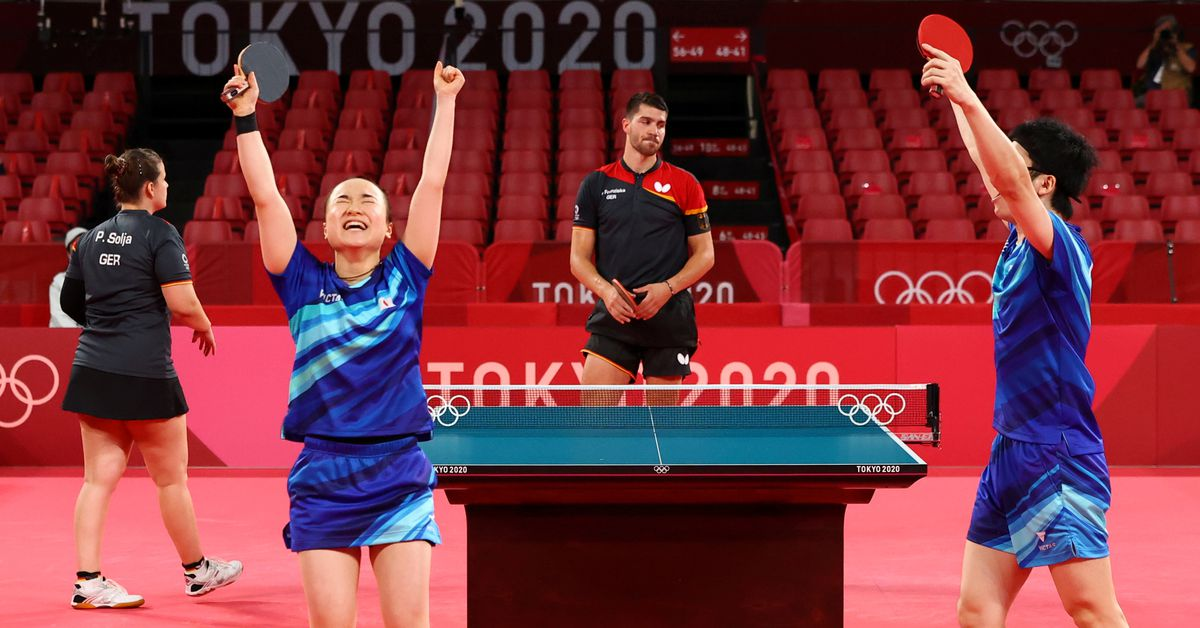 Table Tennis-Tears of joy for Japan duo, nap time for Chinese, after wins https://t.co/MvHUGgbkrf https://t.co/zTpKUPaQwZ