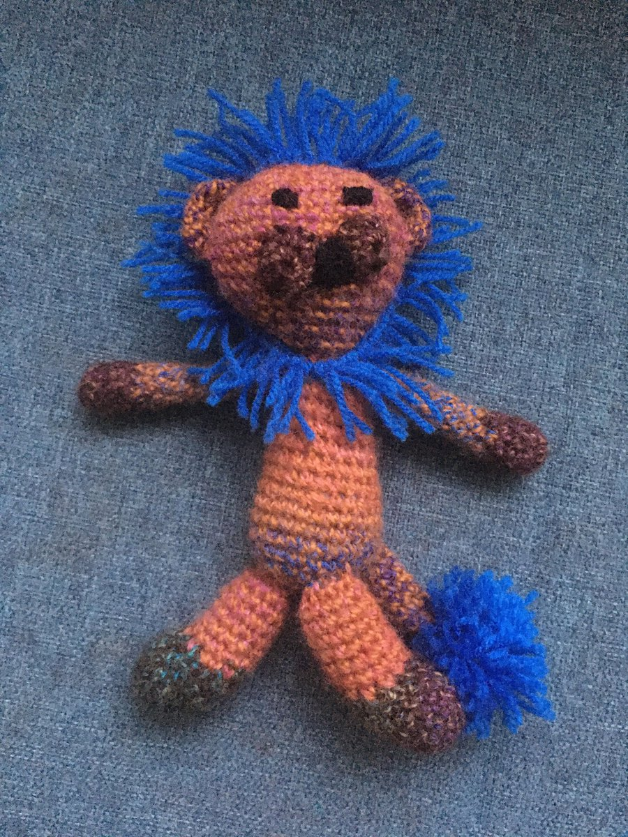 I lost Lionel, my son's favourite teddy that I made him. Left on the 1208 from Euston to Manchester (arr 1427) on 24th July.  @AvantiWestCoast could you RT and help reunite him with a sad 4yr old? I've done a lost property form but he's not been handed in 😢 https://t.co/MQBD0bk7o9