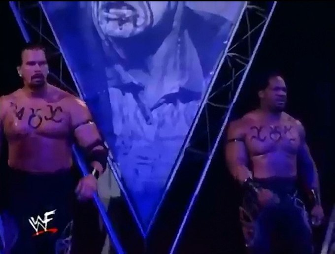 On this day in 1999, The Acolytes(@JCLayfield and Faarooq) won the WWF Tag Team Championship for the 2nd time at Fully Loaded #WWE #FullyLoaded #TagTeamTitles https://t.co/vpEsZnZc3b