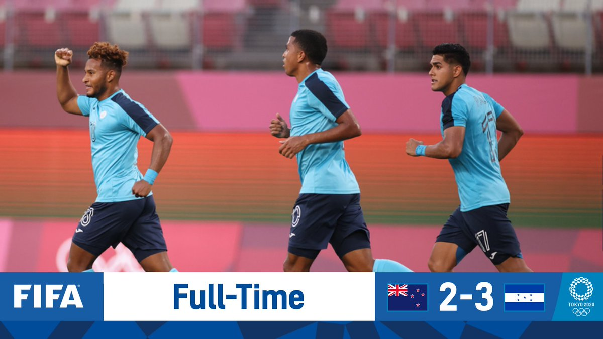 🇭🇳 Honduras twice come from behind to collect a crucial #OlympicFootball win against New Zealand and move back into @Tokyo2020 contention 🇳🇿  #Tokyo2020   #Olympics   #Football https://t.co/4OfQ7KorvM