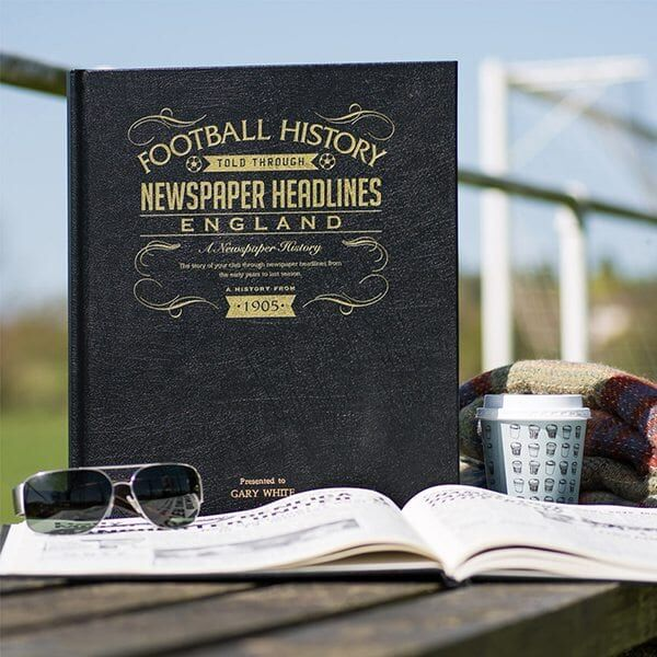 For The #England Fanatic In Your Life! England International Football is captured in a #Personalised leatherette book.  Discover more & order online... https://t.co/bL4WmTVuaP  #England #ItsComingHome #eng #EURO2020 #Euro2020Final #ThreeLions #SweetCaroline #ITAENG #ComeOnEngland https://t.co/lGejLUHawL