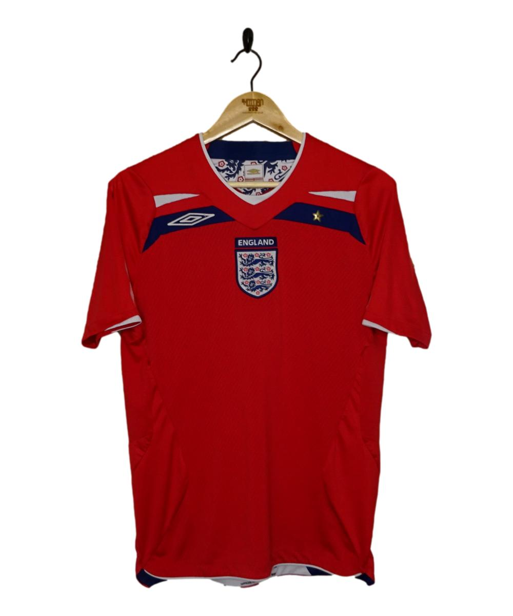 Checkout this 2008-10 England Away Shirt (S)!  Buy Now or Make An Offer at https://t.co/S3s8y6h1er   Free UK P&P!   Tracked Worldwide Shipping!  #2008-10 #ENG #England #ThreeLions #Umbro #TheKitman https://t.co/Jg5BTHKW6x