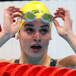 Image for the Tweet beginning: Swimming-Ledecky and Titmus set up