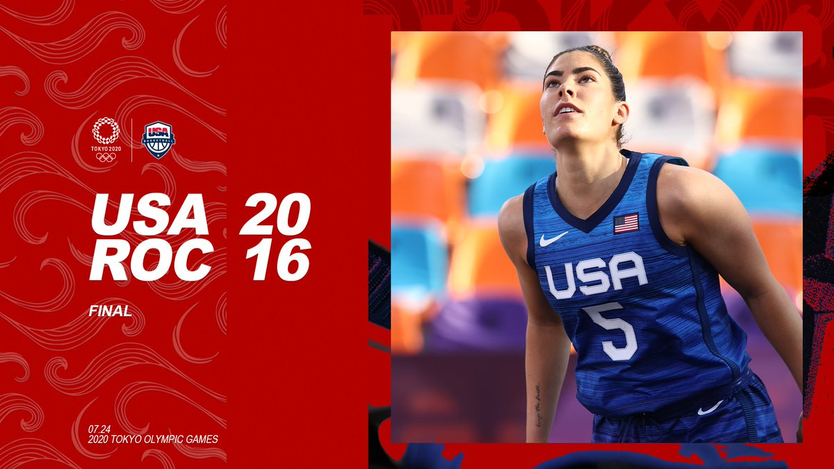 What a comeback!!!   🇺🇸 #USAB3x3 stays undefeated at #Tokyo2020 https://t.co/Y6mLqEz0uW